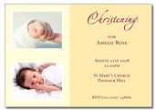 Amelie-Rose folded invitation