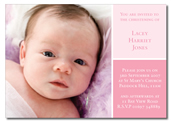 Lacey-Pink folded invitation