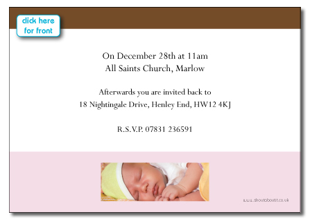Christening invitation and baptism invitation cards custom photo cards card stopboris Image collections
