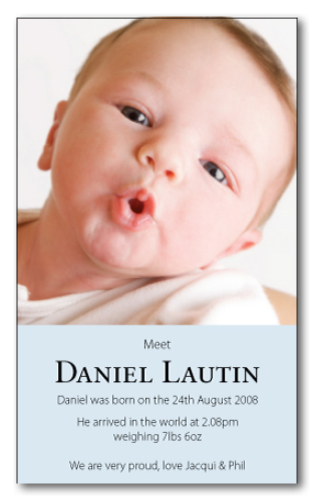 Daniel-Light-Blue folded invitation